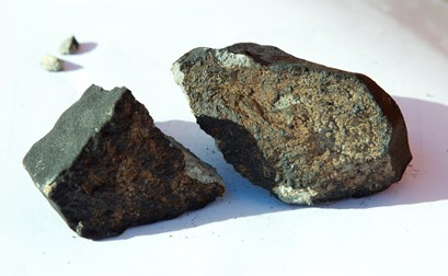 Stump fra meteorit fundet