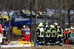 Otte meldes dræbt i togkollision i Bayern