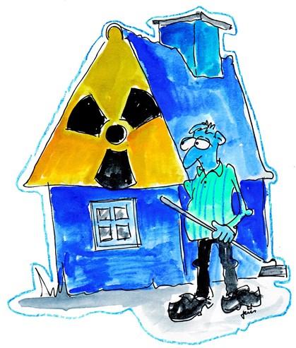 Radon kan i værste fald give lungekræft