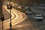 Taxichauffører stopper lørdagstrafikken i protest mod Uber