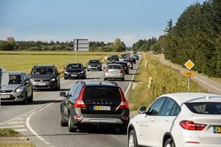 Allerede onsdag kan vejene begynde at blive fyldt op, når danskerne skal på familiebesøg eller i sommerhus