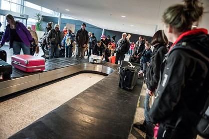Risikoen for at miste sin bagage på rejsen bliver dog mindre og mindre