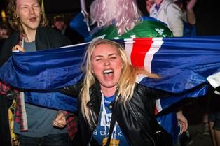 Danske stjerner jubler over islands choksejr mod England i fodbold