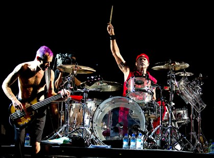 De amerikanske rockmusikere har revanche til gode på Roskilde Festival