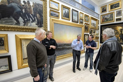Undgå ømme museumsben