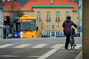 Trafiksikkerheden er forbedret, men antallet af ulykker med cyklister er stabilt