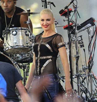 En ung fan fik sit livs oplevelse under en koncert med sangerinden Gwen Stefani