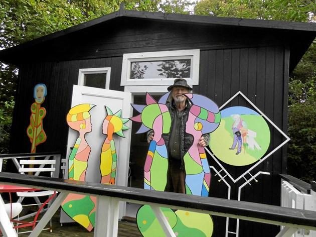 Kunstner udstiller ved Pakhuset