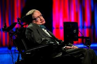 Stephen Hawking mødte Mary under sit foredragsbesøg i Danmark