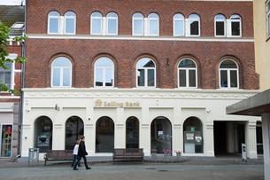 Tilbagegang hos Salling Bank