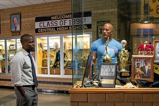 """Dwayne """"The Rock"""" Johnson er den mest indtjenende skuespiller"""