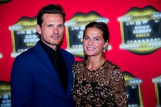 Gravide Andrea Elisabeth Rudolph er rejst til London sammen med sin mand, Claus Møller Jakobsen