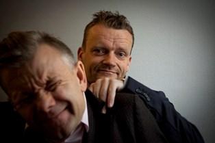 "Komikerduoen Casper Christensen og Frank Hvam arbejder på deres nye film, ""Dan-Dream"", der foregår i 1984"