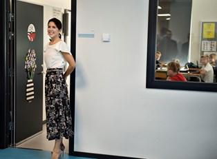 Jesper Høvring, der står bag kronprinsessens kjole, som magasinet Vanity Fair hylder, afslører sjov detalje