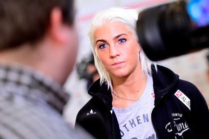 """Håndboldspilleren Kristina """"Mulle"""" Kristiansen mener, at alle kvinder spiller skuespil på et tidspunkt"""