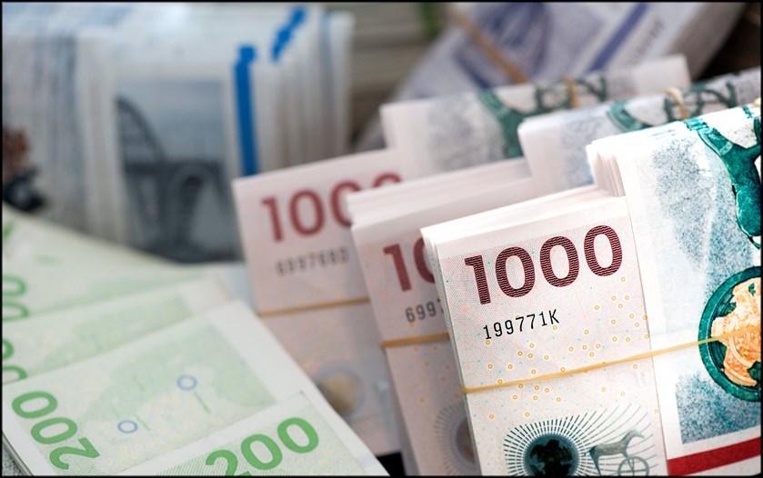 Så mange penge har vi stående på bankbogen