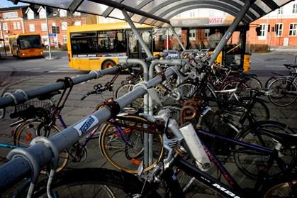 Brug en ældre cykel, så du ikke frister tyven