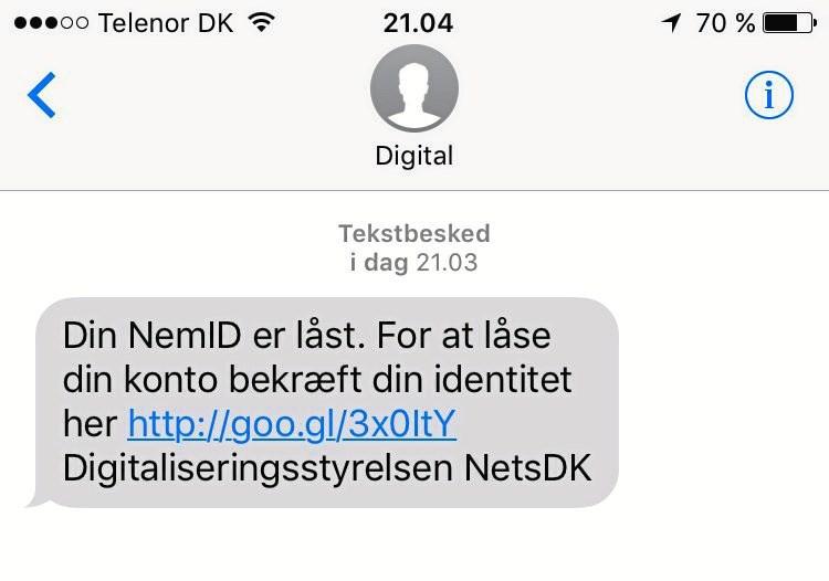 Der er endnu engang falske sms'er i omløb, som kun er ude på at skade modtageren