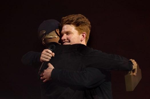 Den aarhusianske rapper Karl William vandt P3 Prisen ved årets P3 Guld