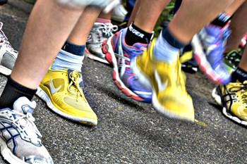 Borgere i byer som Aarhus, Odense og Aalborg er længst fremme i løbeskoene i Danmark. Arkivfoto
