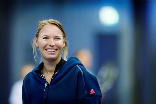 Den skadesramte danske tennisdarling fik sine fans til at tro, at hun havde ændret sin frisure markant