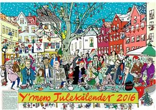 Julekalender nu på gaden for 40. år i træk
