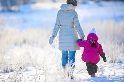 Vinteren nærmer sig, og med vinteren kommer kulden. Den kolde tid kræver selvfølgelig varmere tøj til både mor og barn.