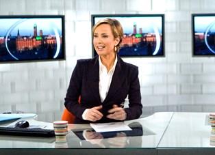 Natasja Crone var første vært på TV2 News for ti år siden. Hun husker det som en vanvittig og kaotisk start