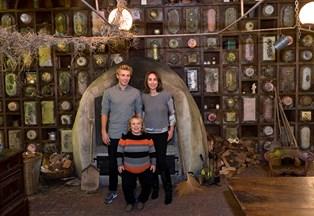 Skuespilleren Andreas Jessen mistede sin far for to år siden, men familien forsøger at holde jul som før