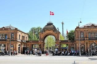 """Tivoligæster kan fra april besøge et blomsterværksted og lytte til koncerter i den nye bygning """"Orangeriet""""."""
