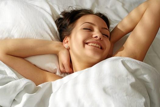 Det kan være nødvendigt at beslutte sig for at sove i hvert sit soveværelse.