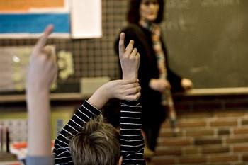 Antallet af folkeskoler er faldet med 23 procent på 15 år, mens antallet af privat- og friskoler stiger. Foto: Steffen Ortmann/Scanpix