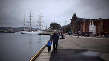 Norge vipper Danmark af pinden og er nu verdens lykkeligste. Foto: Stoyan Nenov/Scanpix