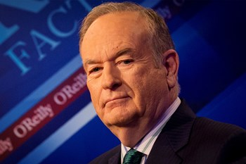 Bill O''Reilly er en populær herre i USA, hvor hans program blev set af millioner. Men nu er han fyret efter anklager om sexchikane. Arkiv. Reuters/Brendan Mcdermid