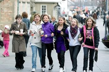 Blå mandag er en festdag for konfirmanderne. Det skal bare ikke ske i skoleregi, mener en skole i Espergærde. Foto: Grete Dahl