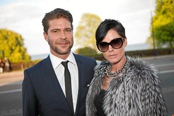Lene Nystrøm og Søren Rasted blev gift i 2001. Scanpix