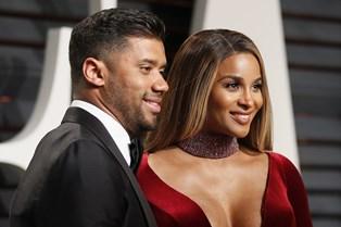 Sangerinden Ciara og NFL-stjernen Russell Wilson har fået datteren Sienna Princess