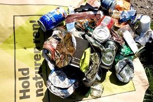 Frivillige og Danmarks Naturfredningsforening indsamlede 154 tons affald