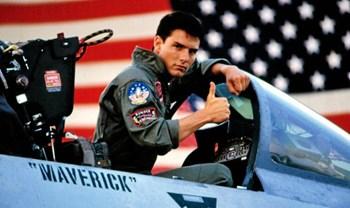"""Den amerikanske skuespiller Tom Cruise bekræfter, at der er en efterfølger til filmen """"Top Gun"""" på vej (arkivfoto). Scanpix"""