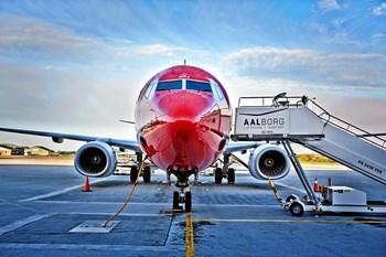 Norwegian aflyste afgang fra Aalborg. Arkifvoto: Aalborg Lufthavn