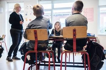 Den sociale arv på tværs af tre generationer kan spores hele vejen op til skolernes afgangsprøver. Scanpix/Ida Marie Odgaard/arkiv