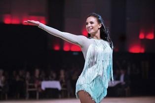 """Claudia Rex er efter to sæsoners pause tilbage i det populære """"Vild med dans"""", og gensynsglæden er stor for den dygtige danser."""