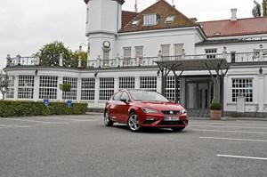 Faceliftet Seat Leon FR med 180 hk og DSG-gear er et køreglad og billigere alternativ til den mere stilige tyske fætter VW Golf