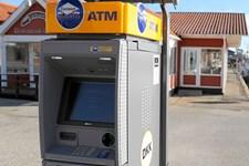 Firmaet Euronet har opstillet over 100 hæveautomater de seneste år, mens flere danske automater forsvinder