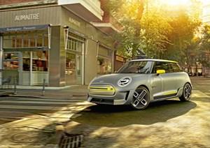 Mini viser koncept for elektrisk model, som skal gå i produktion i 2019