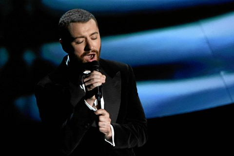 Den oscarvindende sanger Sam Smith giver koncert i Royal Arena den 20. april 2018.