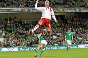Da Danmark besejrede Irland, blev der sat seerrekord på Kanal 5. Kanalen har dog ikke rettighederne til VM.