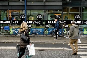 Black friday overgår de store handelsdage før jul. Hos PriceRunner regner direktør Martin Andersen med, at en halv million forbrugere vil sammenligne priser.