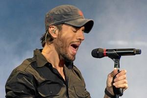 Den spanske sanger Enrique Iglesias optræder i Royal Arena i København den 3. juni 2018.