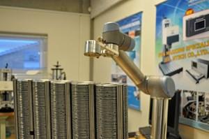 Med knapt 6000 industrirobotter på de danske virksomheder placerer Danmark sig solidt i top-10 over lande i verden med flest robotter.